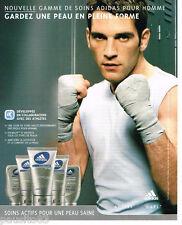 PUBLICITE ADVERTISING 085  2004  ADIDAS  les soins peau homme