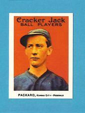 1915 Cracker Jack Reprint Singles: Eugene Packard #142 Kansas City FederalLeague