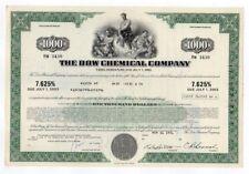 Anleihe Pfandbrief Debenture Dow Chemical Company 1978 Coins & Paper Money
