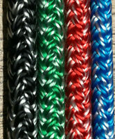 Braid On Braid Rope  6mm,8mm,10mm,12mm Various Colours Priced Per Metre