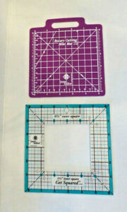 Get Squared Ruler June Tailor 6-1/2-In Outer 3-1/2-In Inner Rotary Cutting Mat