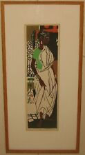 Vintage PAUL B ARNOLD African American Woman in Toga WOODBLOCK - Oberlin College