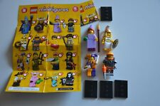 Lego Series 12 Collectible Minifigures Princess, Goddess, Space Miner, Jester