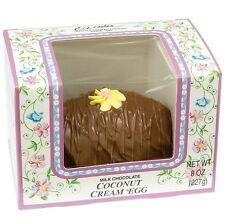 Ashers Milk Chocolate Coconut Creme Easter  Egg - Free Expedited Shipping
