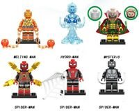 Spiderman Away From Home Venom Mysterio Hydro Maine Building Blocks Minifigures