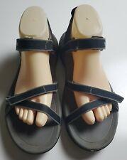 Teva Verra Women's Black & Gray Ankle Strap Sandals Size 9