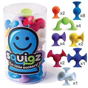 Fat Brain Toys FA088 Squigz Starter Set, 24 Piece