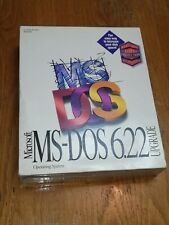 "Microsoft MS-DOS 6.22 Upgrade Operating System 3.5"" Floppy.In Box – Opened"