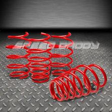 "1.5""DROP RACING SUSPENSION LOWERING SPRINGS/SPRING 06-12 YARIS/VITZ XP90/130 RED"
