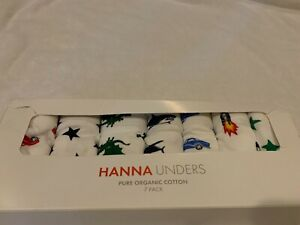 Hanna Andersson underwear boys size medium 6-8 120-130 new in box $42 at store