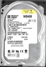 WESTERN DIGITAL WD400BB-75DEA0 40GB IDE HARD DRIVE  DCM: HSBHNV2CH