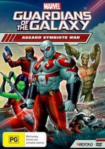 Guardians Of The Galaxy - Asgard Symbiote War (DVD) New / Sealed - Region 4
