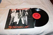 "Big Audio Dynamite 12"" Gold Stamp Promo Single with Original Cover-THE BOTTOM LI"