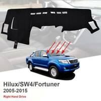 For Toyota Hilux 150 Series SR SR5 05-15 Dashboard Cover Dashmat Dash Mat Carpet
