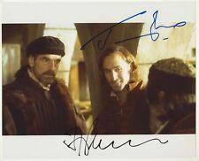 [3628] Jeremy Irons Joseph Fiennes Signed 8x10 Photo AFTAL