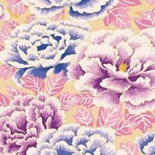 Rowan Kaffe Fassett Kimono Floral Fabric  GP33-Lavender/Blue Limited Edit.BTY