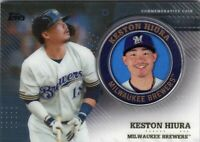 2020 TOPPS MEDALLION BASEBALL SERIES 2 CARD # TPM-KH - KESTON HIURA  BREWERS
