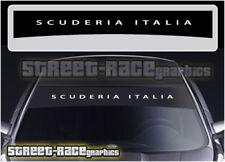 SS832 FIAT Scuderia Italia Sunstrip Graphique Stickers Autocollants 500 punto