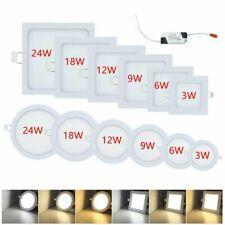 10X LED Rund EinbauSpot Strahler Panel Wandleuchte Ultraslim Deckenleuchte
