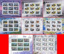 RUSSIA 1990's VALUABLE COLLECTION of 84 M/Sheets MNH free SHIPPING