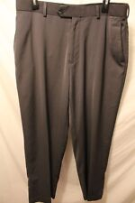 mens Pierre Cardin Golf pants 34x29 GraFlat Front 100% Polyester