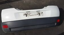 BREAKING VOLVO C30 REAR BUMPER IN WHITE ICE WHITE PAINT CODE 614