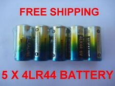 5 x 4AG13 4LR44 L1325 A28 6V Alkaline battery, Anti-Bark Dog Collar Batteries