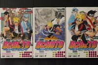 JAPAN manga: Boruto -Naruto Next Generations- vol.1~3 Set