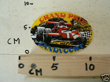 STICKER,DECAL GRAND PRIX ZANDVOORT FORMULA ONE, F1