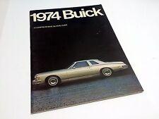1974 Buick Riviera Electra LeSabre Century Gran Sport Apollo Brochure