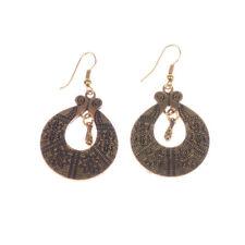 Bohemian Boho Style Ethnic Carved Vine Flower Gold/Silver Women Stud Earrings