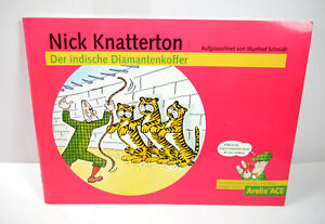 Nick Knatterton the Indian Diamantkoffer Comic Arelix Ace Werbecomic (WR3)