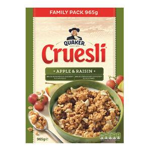Quaker - Cruesli Apple & Raisin - 965gr