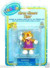 Webkinz Three Cheers Tiger Figurine with Code FREE SHIPPING!