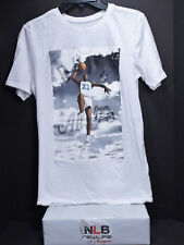 Air Jordan Retro T-Shirt Men's Small WHITE From Above College North Carolina