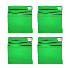 4 Pcs Italy Towel Bath Massage Towel Korean Wash Scrubber Body Bath cloth