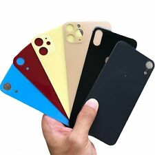 Replacement Rear Cover Back Glass Door Big Camera Hole For iPhone 8 X 11 XS Max