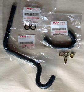 Throttle Body Coolant Hose Kit w. Clamps | Geo Metro Swift 89-94 | 1L & 1.3L  OE