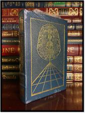 Neuromancer ✎SIGNED by WILLIAM GIBSON Sealed Easton Press Leather Bound Hardback