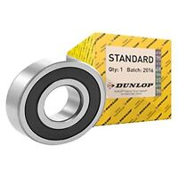 HIGH QUALITY DUNLOP 6300 - 6315 2RS RUBBER SEALED BALL BEARINGS - SELECT SIZE