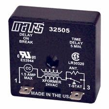 Mars 32091 SS Delay On Make Timer 19-240 VAC 6Sec 10Min Delay