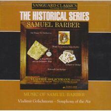 Vladimir Golschmann - Music of Samuel Barber [New CD]