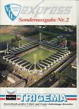 BL 91/92 VfL Bochum - Sonderausgabe 2 - Vorschau Saison