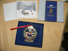 the white house christmas ornament 2003 new in box with booklet