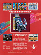 1992 ATARI MOTO FRENZY VIDEO FLYER