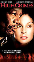 High Crimes VHS Fox 2002 Thriller Ashley Judd Morgan Freeman