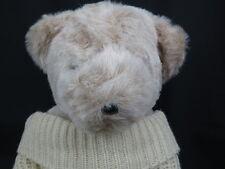 VINTAGE 1979 THEODORE BEARINGTON TEDDY BEAR BEIGE 1982 TURTLENECK SWEATER PLUSH