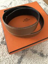 Hermes Reversible belt, Brown/Black