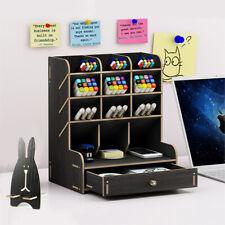 Multi Functional Pencil Organizer Pen Holder Diy Art Supply Desktop Organizer