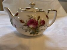 More details for grandmothers rose teapot by hammersley
